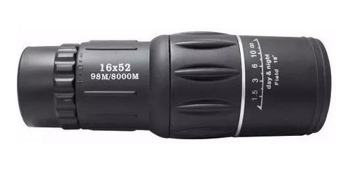 teléscopio luneta mónoculo alcance até 8km zoom 16x