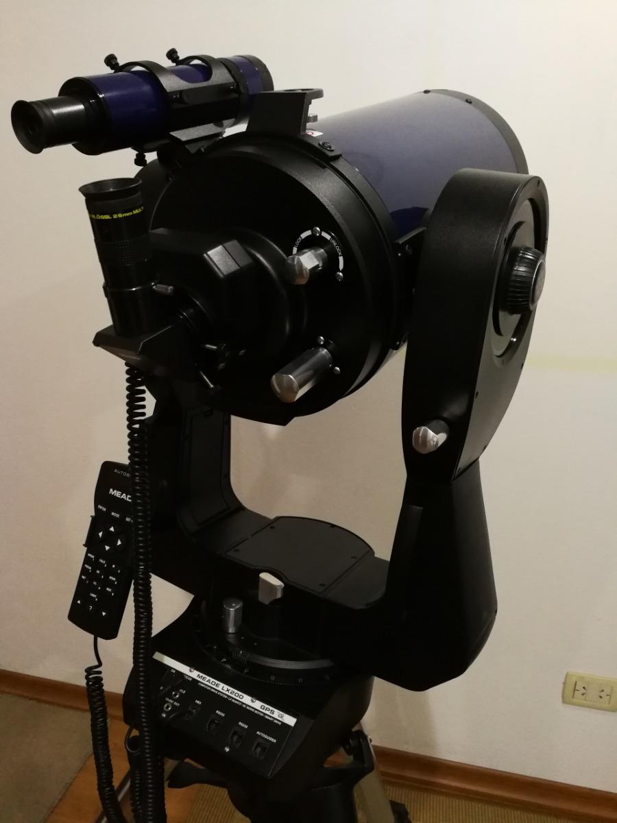 Telescopio Meade Lx200 Gps 8 Y Accesorios Adicionales - $ 120 000,00