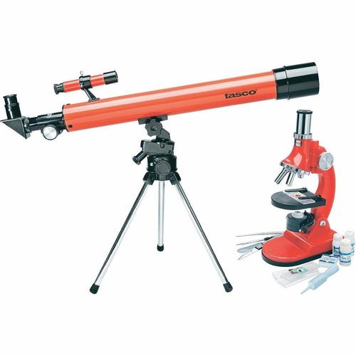 telescopio + microscopio tasco specialty 49tn d=50mm 900x