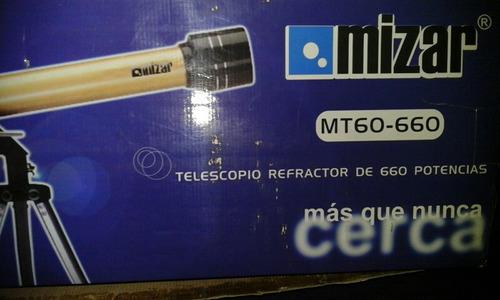 telescopio mizar mt60 660