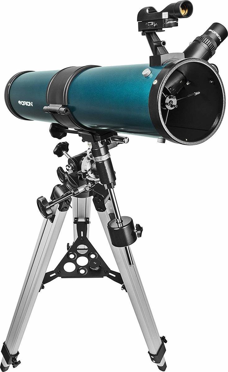 Telescopio reflector ecuatorial Orion SpaceProbe II 76 mm