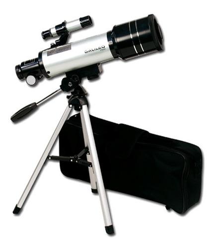 telescopio refractor 400x70 c tripode bolso y accesorios