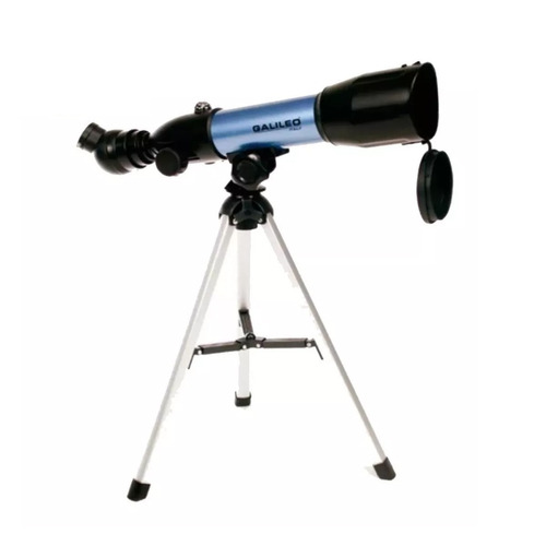 telescopio refractor galileo f360x50n 270 aumentos + tripode