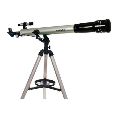 telescopio refractor galileo f800x70 aumento 600x tripode