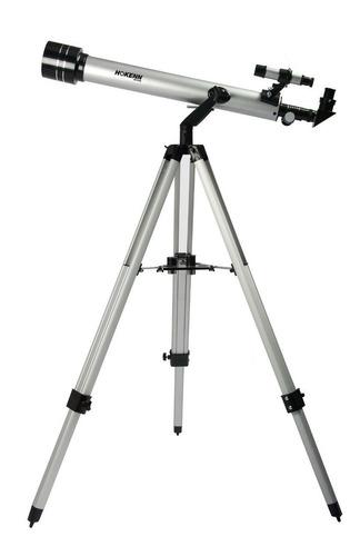 telescopio refractor hokenn hpr60700al - 60x700 astronomico