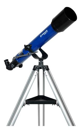 telescópio refractor infinity 70mm altazimuth meade