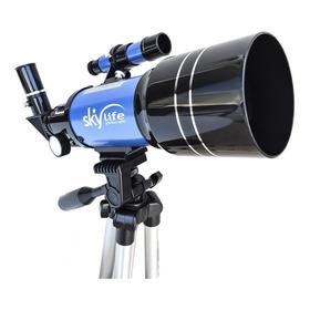 Telescópio Refrator Skylife Tycho 2.8 70mm  + Tripé Alto