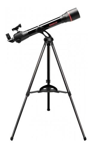 telescópio refrator space station 60x700 mm com tripé tasco