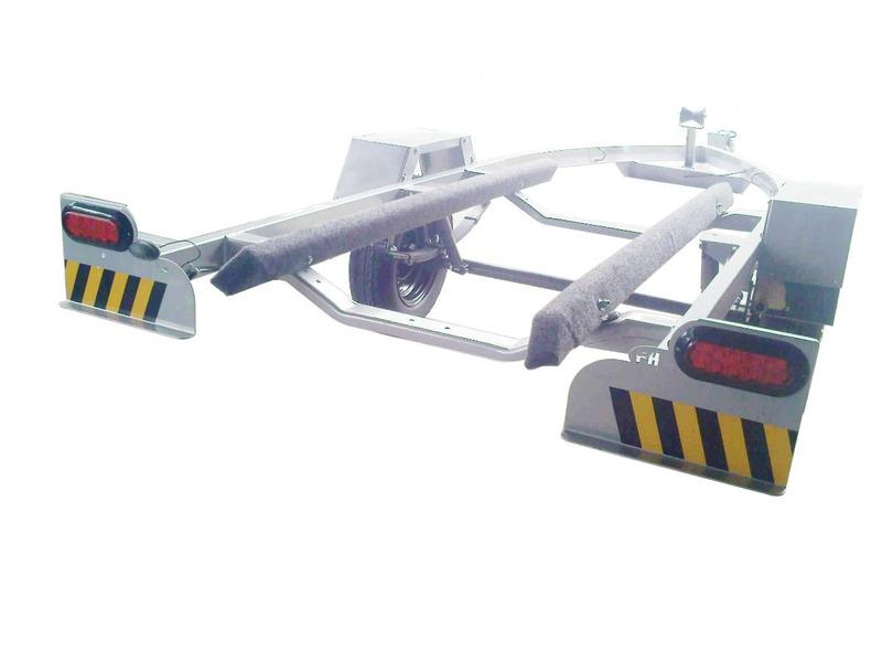 televendas carretinha jet ski freehobby galvanizada selada