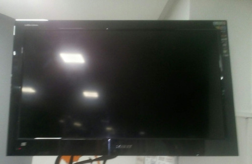 televisión 32  hd led con control remoto y base aerea
