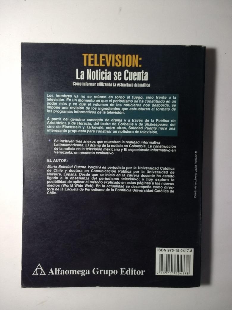 Televisión La Noticia Se Cuenta 2a E Soledad Puente 200 00