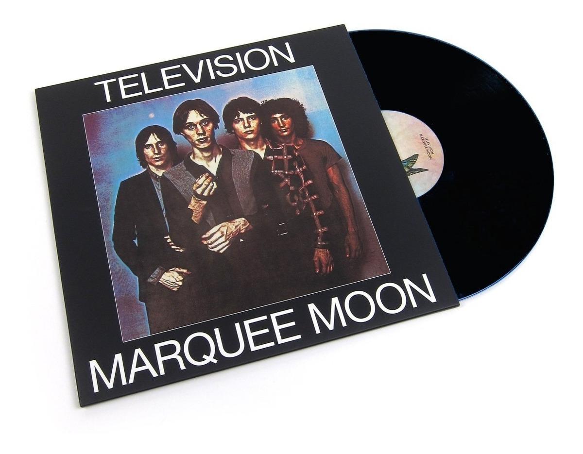 Television - Marquee Moon Lp 180g Punk Clash Ramones Cd Vini - $ 699.00 en  Mercado Libre