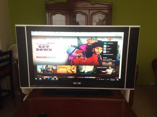televisión / monitor lcd viore 37  pulgadas modelo lc37v43