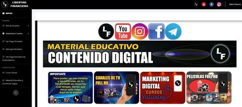 televisión, películas y cursos ilimitados
