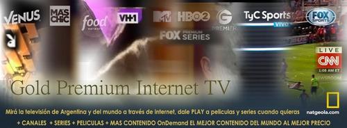 televisión por internet, películas y series ondemand