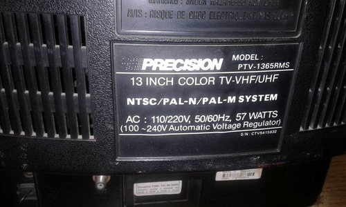 television precision 14