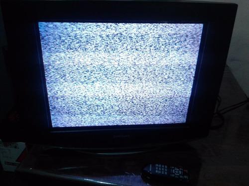 television samsung 21' slim cl21a551ml jamas reparada