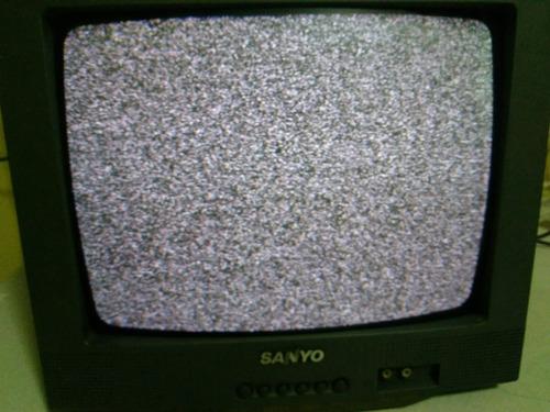 televisión  sanyo ds13310  crt