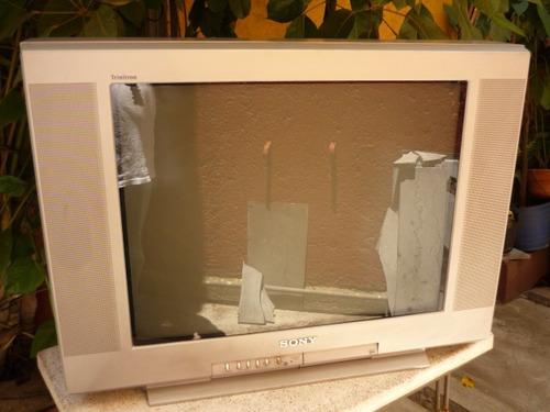 televisión sony trinitron 24 pulgadas