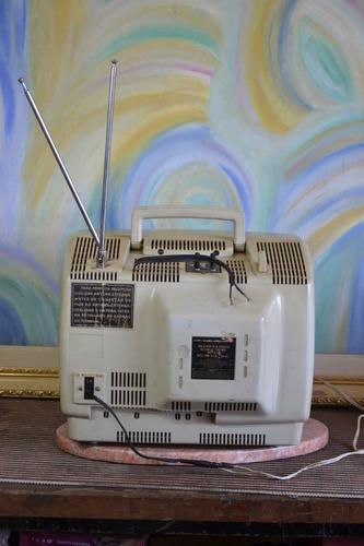 televisão semp toshiba antiga tvc-100 portátil color casa