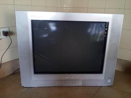 televisor 20   dañado, marca royal (15)