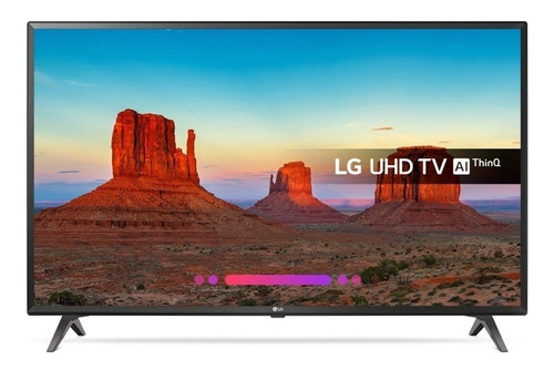 televisor 43 lg smarttv 4k active hdr 43uk6090 webos chacao