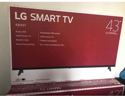 televisor 43  smart  tv  lg full  hd promoción