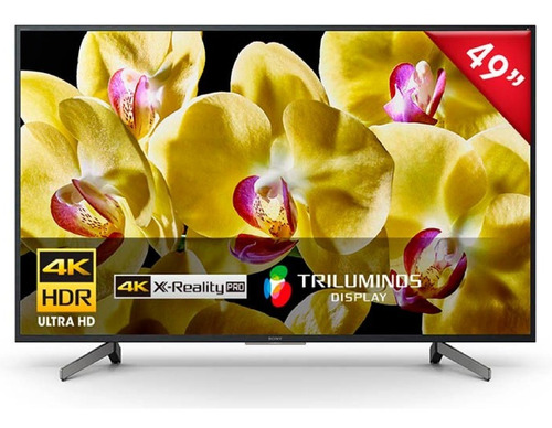 televisor 49  4k ultra hd smart/android - sony xbr-49x805g