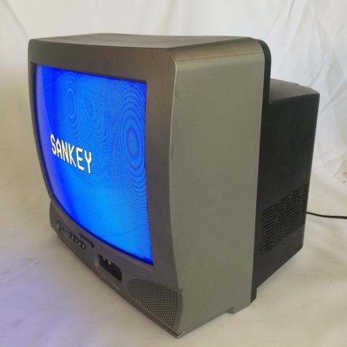 televisor a color convencional de 14 pulgadas sankey