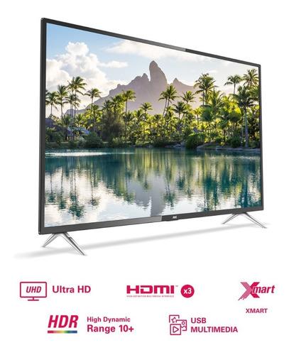 televisor aoc smart uhd 4k hdr 50u6295