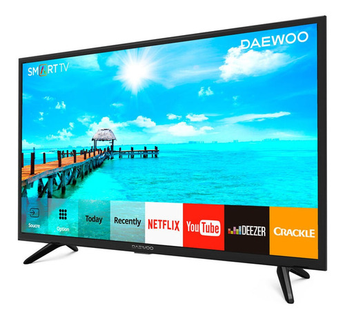 televisor daewoo 43 smart tv fhd android 7.0 isdbt