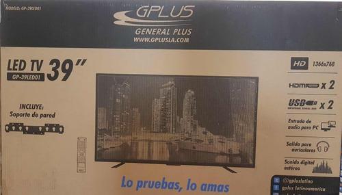 televisor gplus 39 pulgadas   hd