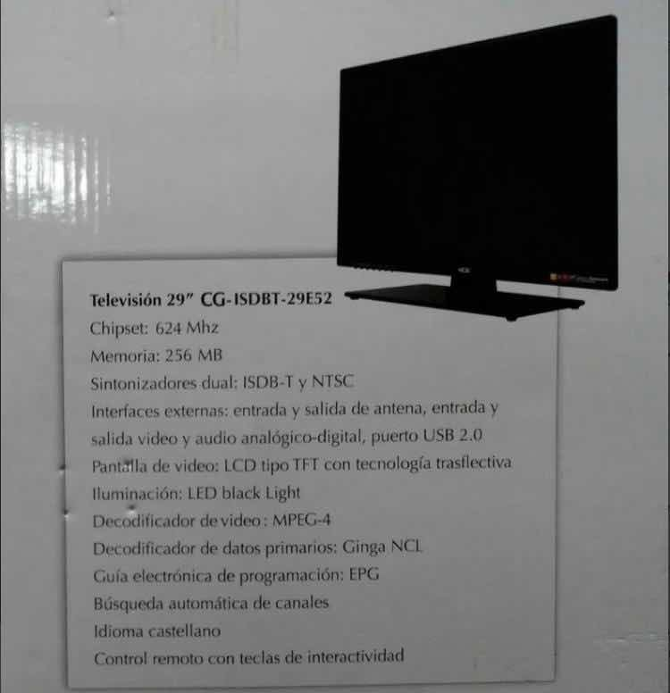 Televisor Lcd Led De 29 Pulgadas Bs 4 000 000 00 En Mercado Libre