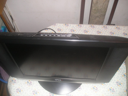 televisor lcd monitor 22 spika c/ctrl rem orig impecable!!!!