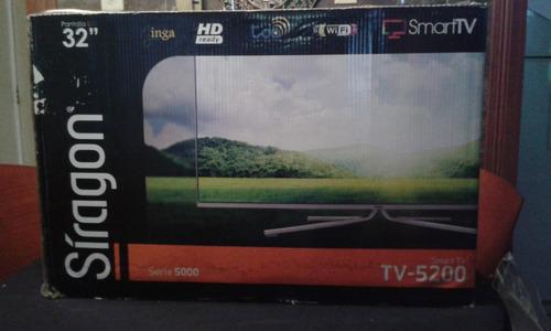 televisor lcd usado 32 pulgadas. full hd, wifi. smart tv