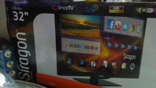 televisor led 32  smarttv-7132 siragon