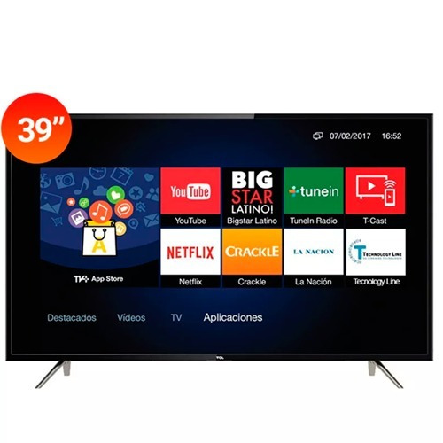televisor led 39  tcl s4900 smart netflix full hd usb hdmi