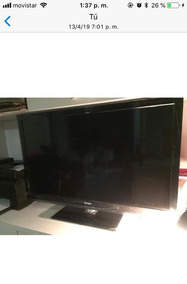 b19083e2af27 Televisor Led 42 Pulgadas Con 2 Controles Casi Nuevo