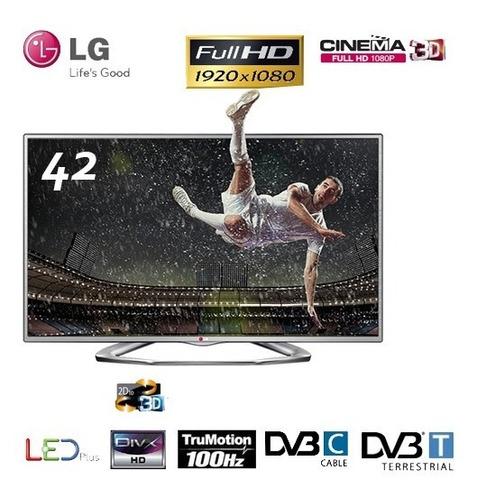 televisor led 42 pulgadas lg cinema 3d  triple xd engine