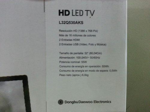 televisor led daewoo