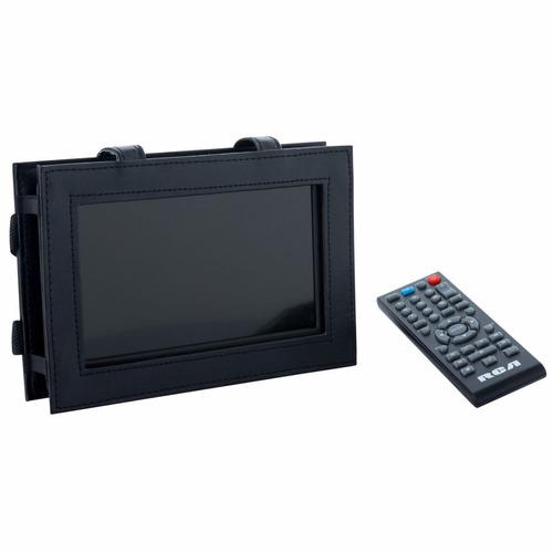 televisor led portátil 7  rca control y funda para auto