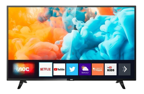 televisor led smart tv aoc 43 43s5295 full hd hdr mod 2020