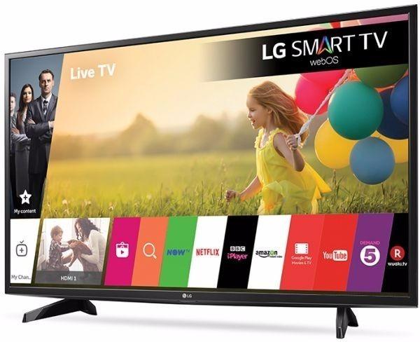 8acb4ecfc1c41 Televisor Lg 43lj550t 43 Pulgadas Full Hd Smart Tv Wifi -   1.225.900 en Mercado  Libre