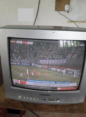 televisor marca daewoo dc 14 pulgadas a color operativo