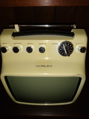 televisor noblex retro vintage