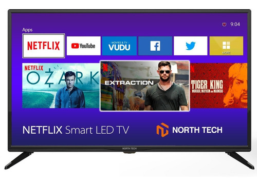 televisor north tech 32  led slim hd smart tv