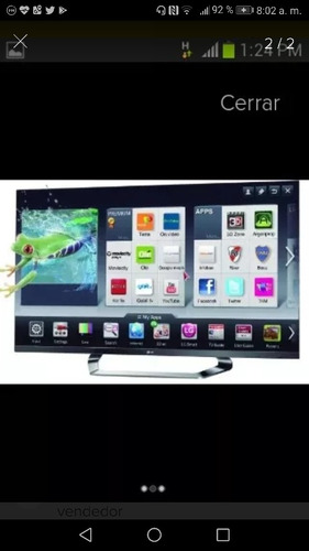televisor nuevo lg 55 lm6700 smart tv