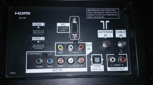 televisor panasonic 32 pulgadas lcd hd como nuevo