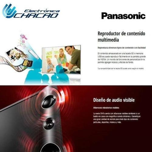 televisor panasonic led hd 32  6 altavoces tcl32sv6l