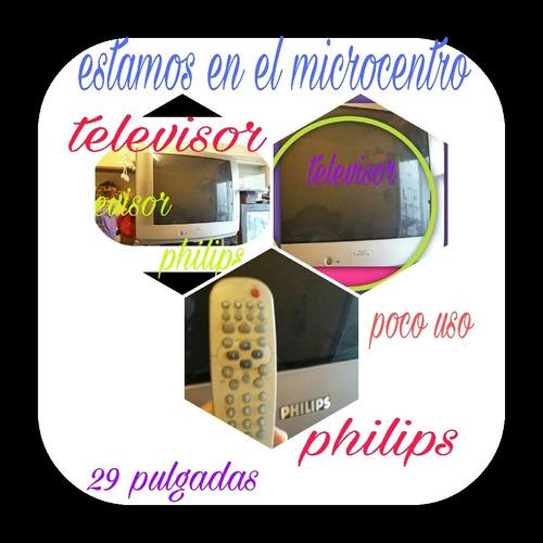 televisor philips de 29 pulgadas nuevo - poco uso